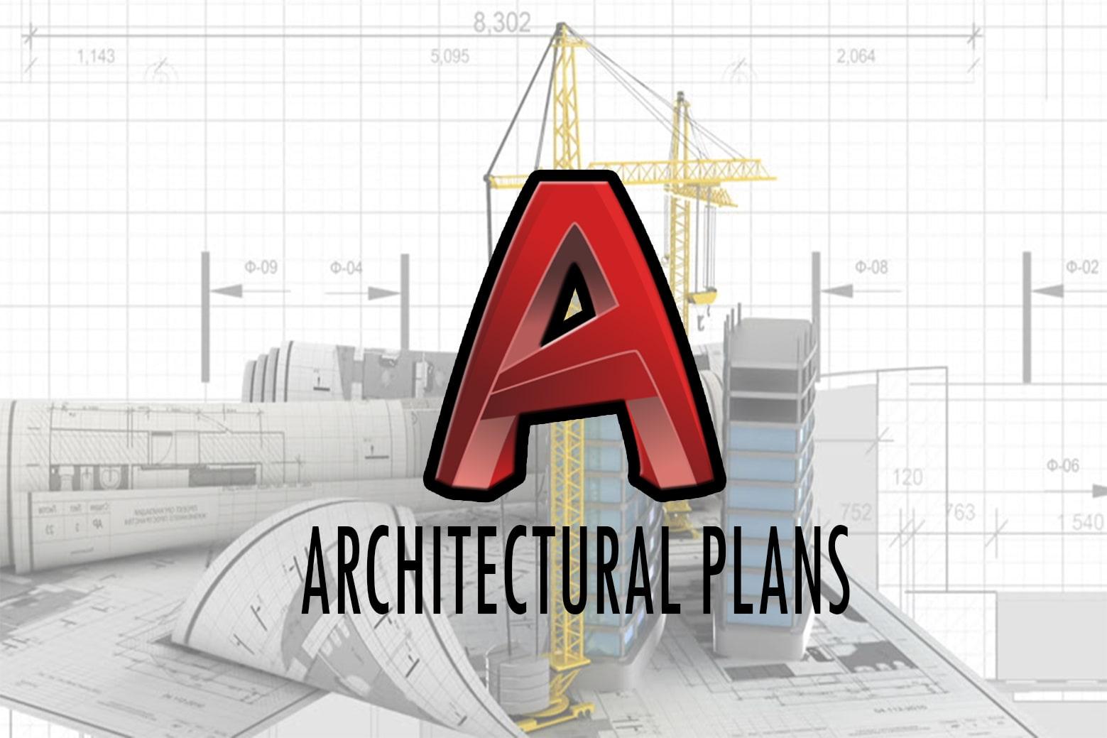 Portfolio for 2d Autocad Architectural Plan Design
