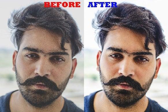 Portfolio for retouch, enhance, edit your bulk photos