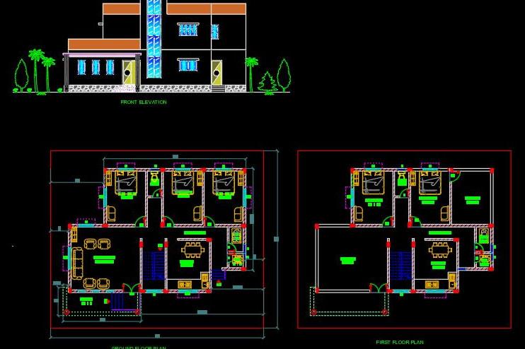 Portfolio for Civil Engineer AutoCAD 2D & 3D DRAFTING