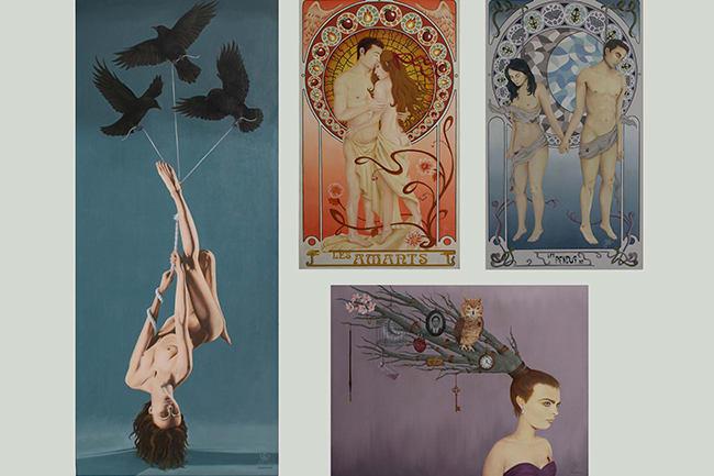 Portfolio for Artist: painter, sculptress and jeweler