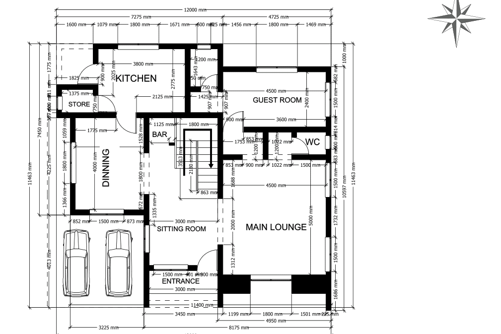 Portfolio for 2D FLOOR PLAN