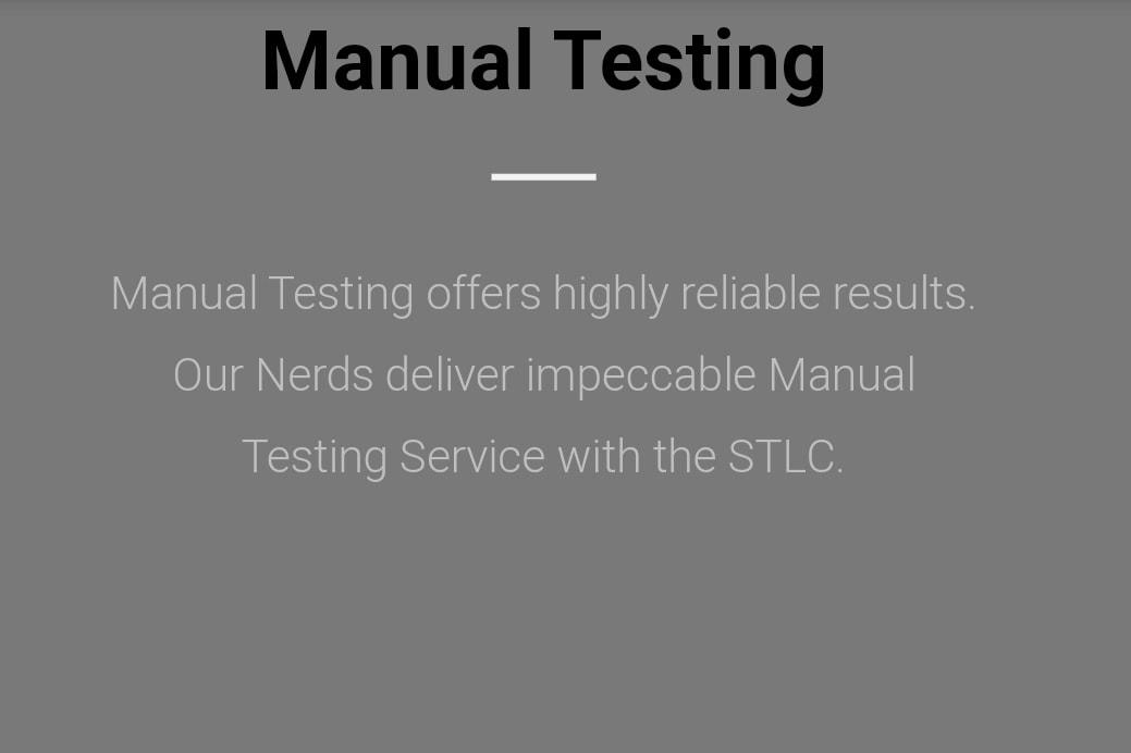 Portfolio for Software Testing