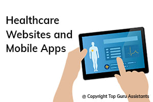 Portfolio for Healthcare Websites and Mobile Apps