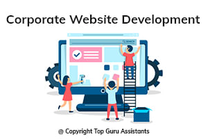 Portfolio for Corporate Website Development