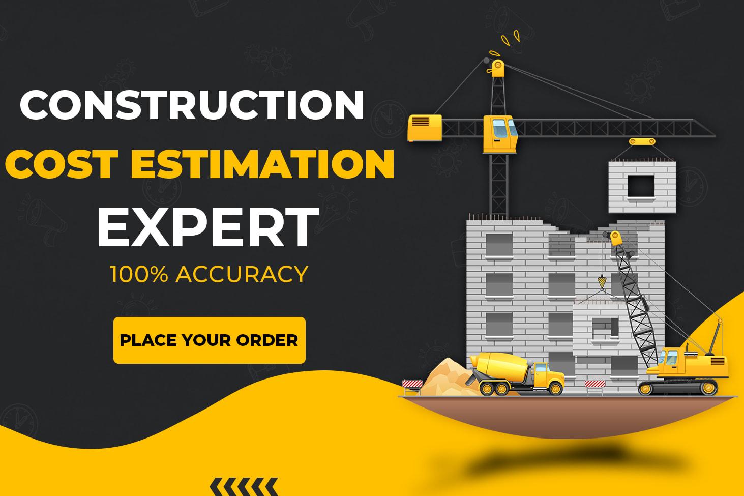 Construction Cost Estimation Freelancers for Hire - Guru