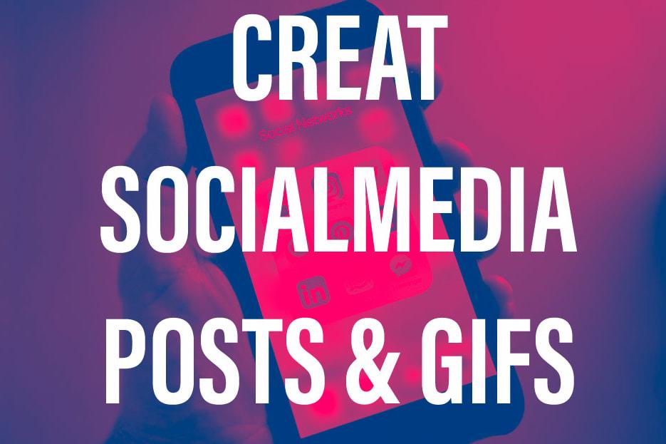 Portfolio for Social media content creator