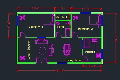 Portfolio for AutoCAD 2D (Civil Engineering)