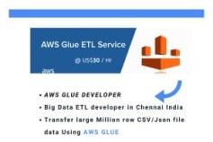 AWS amazon glue developer in India