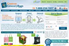 Improve Ecommerce Site That Offers Grocery Bags