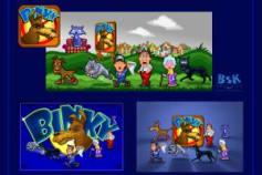 'BINKY' - MOBILE APP GAME ART