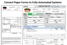 Paper Forms to Automated Systems