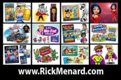 Rick Menard - Cartoon Portfolio