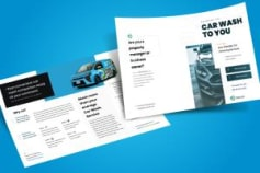 Brochure Design for PreshaWash