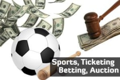 Sports / Ticketing / Auction / Betting
