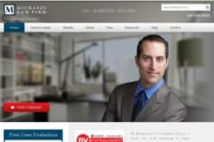 Michael's Firm - Wordpress Website