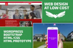 Wordpress, Bootstrap, Web Design