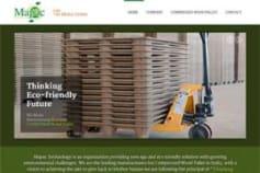 Website Development of Mapac Technology