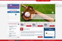 WP Sports Website with Event calender and News