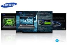 Samsung notebook campaign