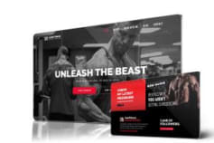 Sumfitness website for Russell Mclean