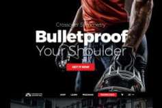 Crossover Symmetry Website Design, Branding