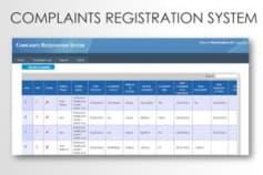 Complaint Management System (Asp.net application)