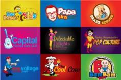 Portfolio For Mascot Base Logo Design