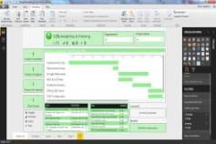 MS Power BI - Multiple Project Dashboard
