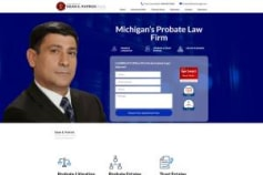patricklegal.com Website Redesign Wordpress