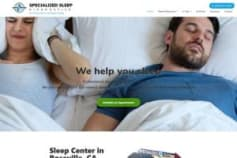 specializedsleep.com Website Redesign
