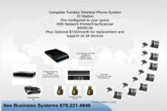 10 user Business Phone System