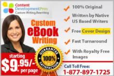 Custom eBook Writing