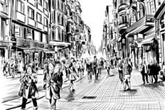 Line Arts Sketches
