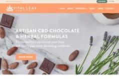 Vital Leaf - E-Commerce