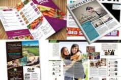 Brochures, ebooks