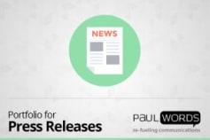 Portfolio For Press Releases