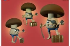 3D Characters Design & Rendering