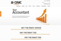 Web Design for A One Accountants