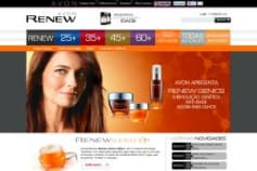 Website Project for Avon Renew
