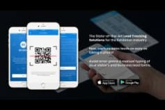 Visitor Mangement Mobile App (Using Rfid At Large-scale