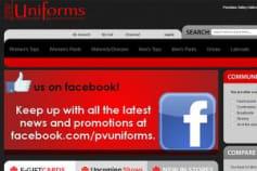 E-commerce website for Apparels