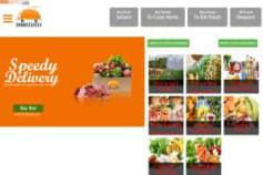 Marketplace website development