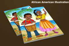 African American children's Story Book