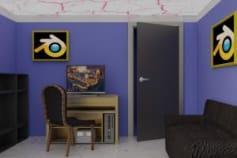 Blender 3d Office Furniture Modeling