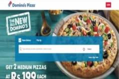 Dominos India Brand Site
