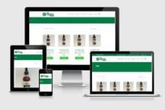 E-commerce WordPress site development