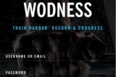 Wodness - Gym Application