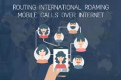 SYSTEM FOR ROUTING INTERNATIONAL ROAMING MOBILE CALLS