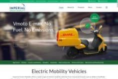 Electric Mobility Vehicles Website