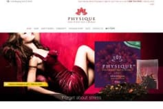 PHYSIQUE Tea - Body Shaping Beverage selling website